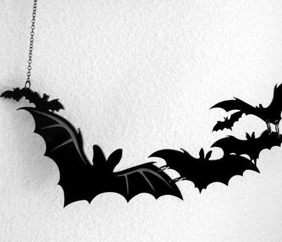 Bats necklace